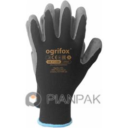Rękawice ochronne OX-LATEKS – czarno-szare