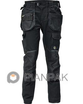 Spodnie robocze DAYBORO – czarne