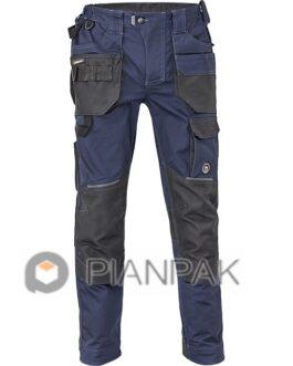 Spodnie robocze DAYBORO – granatowo-czarne