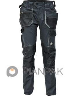 Spodnie robocze DAYBORO – szaro-czarne